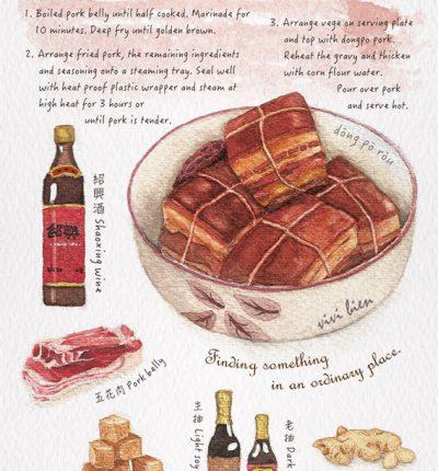Dongpo Pork Postcard