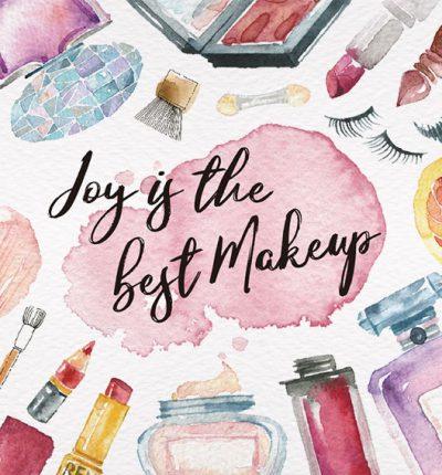 Makeup Postcard